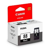 CANON Black Ink Cartridge [PG88] - Tinta Printer Canon